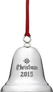 Reed & Barton X800E 2015 Annual Christmas Bell Ornament