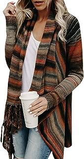 Full Sleeve Knitted Lightweight Speckled Fringe Tasseled Slash Cardigan/Batwing Sleeve Patchwork Pullover