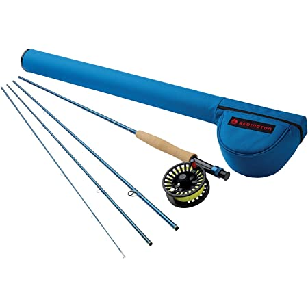 """Redington Crosswater Fly Fishing Outfit (476-4) - 4 Weight, 7'6"""" Fly Fishing Rod w/Crosswater Fly Reel"""