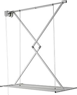 Aluminium Couleur Gris Monchy 008782//Étendoir de Plafond 140/cm