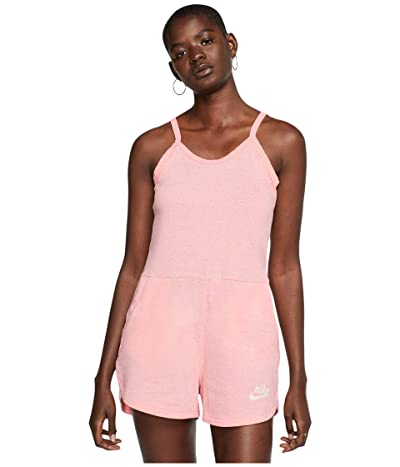 Nike NSW Gym Vintage Romper (Bleached Coral/Sail) Women