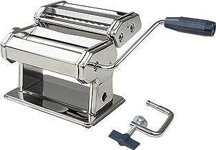 Fackelmann 27916 Machine à pâtes, laminoire, machine pour pâtes maison, Acier inoxydable, Aluminium, Plastique, 19,8 x 21 ...