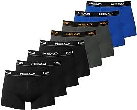 HEAD Herren Boxershorts 841001001 8er Pack, Wäschegröße:M;Artikel:4x black 2x dark shadow 2x blue/black