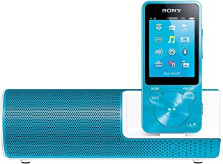 ソニー SONY ウォークマン Sシリーズ NW-S14K : 8GB Bluetooth対応 イヤホン/スピーカー付属 2014年モデル ブルー NW-S14K L