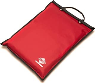 Aqua Quest Storm Laptop Case - 100% Waterproof Pouch for Apple, Samsung, Acer, Dell, Asus, Lenovo, HP Lightweight Sleeve - 15 Inch - Red