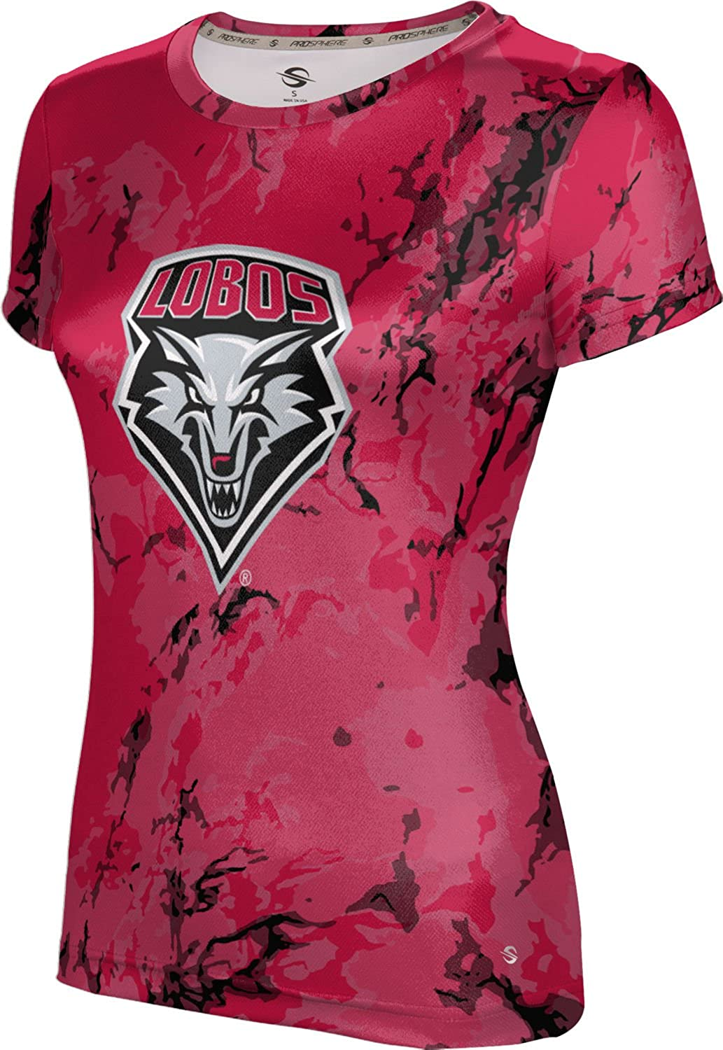 ProSphere University of New Mexico Girls' Performance T-Shirt (Marble)