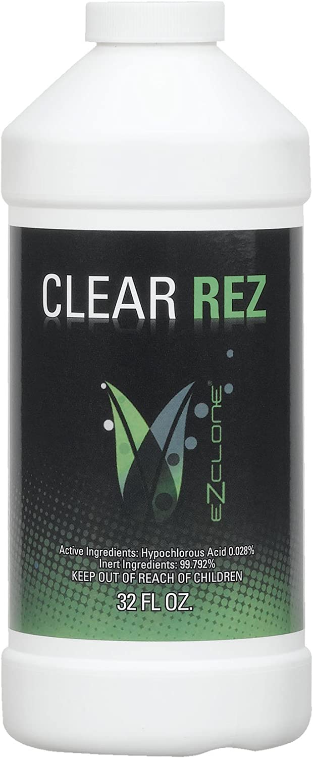 EZCLONE Clear Rez Solution for Plant Cloning, 32Ounce