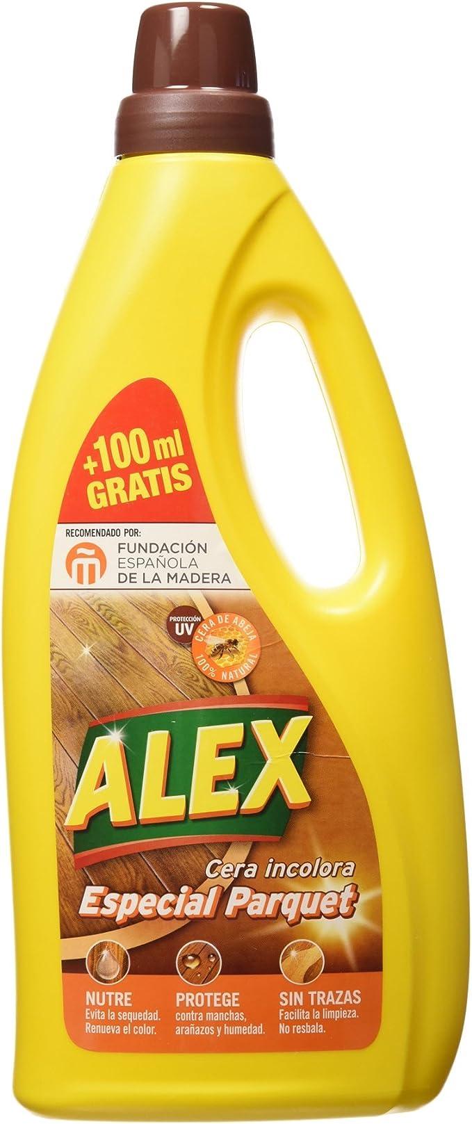 Alex - Cera Incolora, Especial Suelos de Parquet, 750 ml