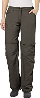 VAUDE Women's Hose Farley ZO IV Ladies' Trousers, Pebbles, 34, 038730230340