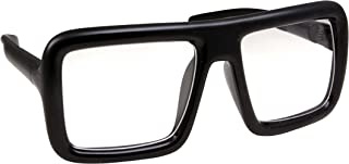 Thick Square Frame Clear Lens Glasses Eyeglasses Super Oversized Fashion and Costume