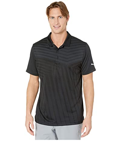 PUMA Golf Alterknit Reflection Polo (PUMA Black) Men