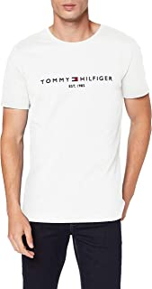 Tommy Hilfiger T-Shirts for Men, Size L, White