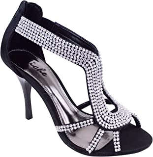 Fashion Thirsty Womens Party Prom Bridal Evening Fashion High Heels Shoes Sandals