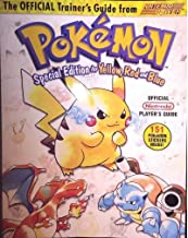 Pokemon Trainer Guide Yellow, Red and Blue (nintendo pokemon special edition for yellow, red and blue)