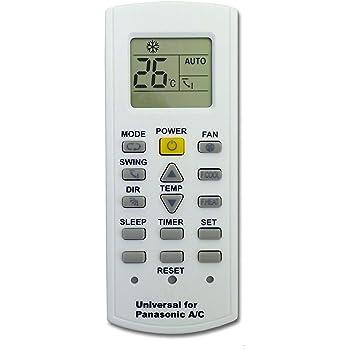 Mando a Distancia para Aire Acondicionado Panasonic: Amazon.es ...