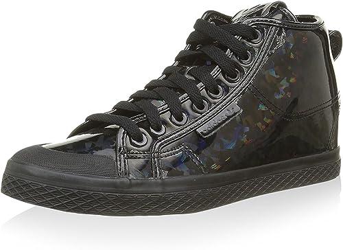 Adidas Honey Up W, Chaussures en Forme de Bottines Bottines Femme  livraison éclair