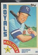 1984 Topps George Brett Royals All Star Baseball Card #399