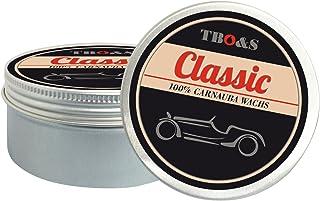 TBO&S Classic Carnauba Wachs 200 g für Oldtimer und Youngtimer Speziell entwickeltes Lackpflegemittel mit wachsartiger Konsistenz