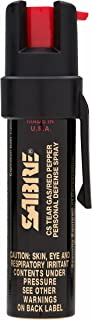 SABRE Advanced Compact Pepper Spray with Clip – 3-in-1 Formula (Pepper Spray, CS Tear Gas & UV Marking Dye), Police Streng...