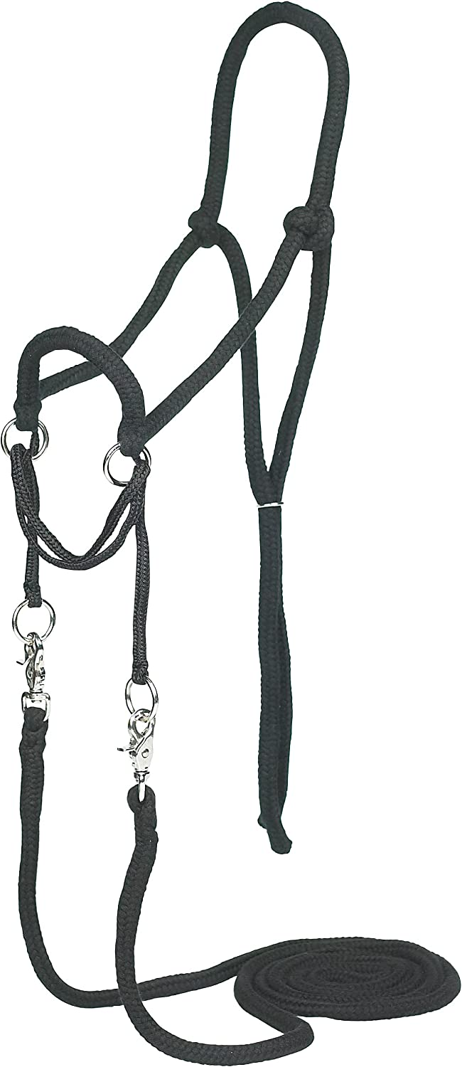 Bargain free shipping Mustang Manufacturing Company Bitless Bridle