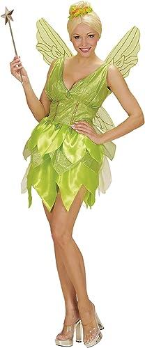 100% precio garantizado WIDMANN 02293 - vestido traje adulto Hada de la la la fantasía, alas, Talla L, Color verde claro  auténtico