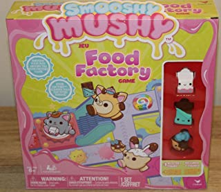 Smoosh Mushy Food Factory Board Game Toy Gift -1 Mystery Figure / 3 Figures- New