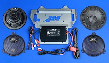JM Audio Rokker Extreme 2 Speaker and 350W Amplifier Kit for 2014 and Newer Harley-Davidson Street Glide models - XXRK-350SP2-14SG
