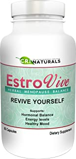 Estrovive - Hot Flashes Menopause Relief - Black Cohosh Menopause Complex - Sleeping Pills - Hot Flash Relief