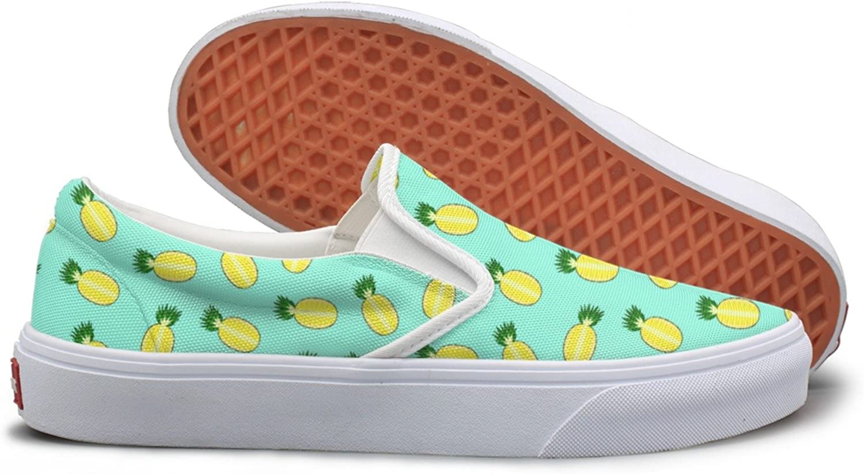 Cute Pineapple Split In A Half Fashion Sneakers For Women