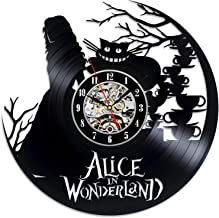 Best alice in wonderland vinyl clock Reviews