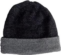 Gamboa - Warm Alpaca Cap - Black and Grey