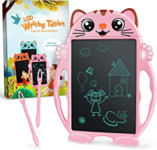 PASTACO LCD Writing Tablet, Toys for 2 3 4 5 6 Years Old Girls Boys, LCD Drawing Tablet for Kids, Digital Doodle Board for Little Girls Toddlers, Toys Gifts for Girls Boys, Easter Gifts for Kids