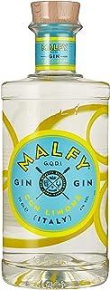 Malfy Gin con Limone – Premium Gin aus Italien mit Zitronengeschmack – Hochprozentiger Alkohol mit 41 % Vol – 1 x 0,7L