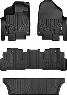 MAXLINER Floor Mats 3 Row Liner Set Black for 2018-2019 Honda Odyssey - All Models