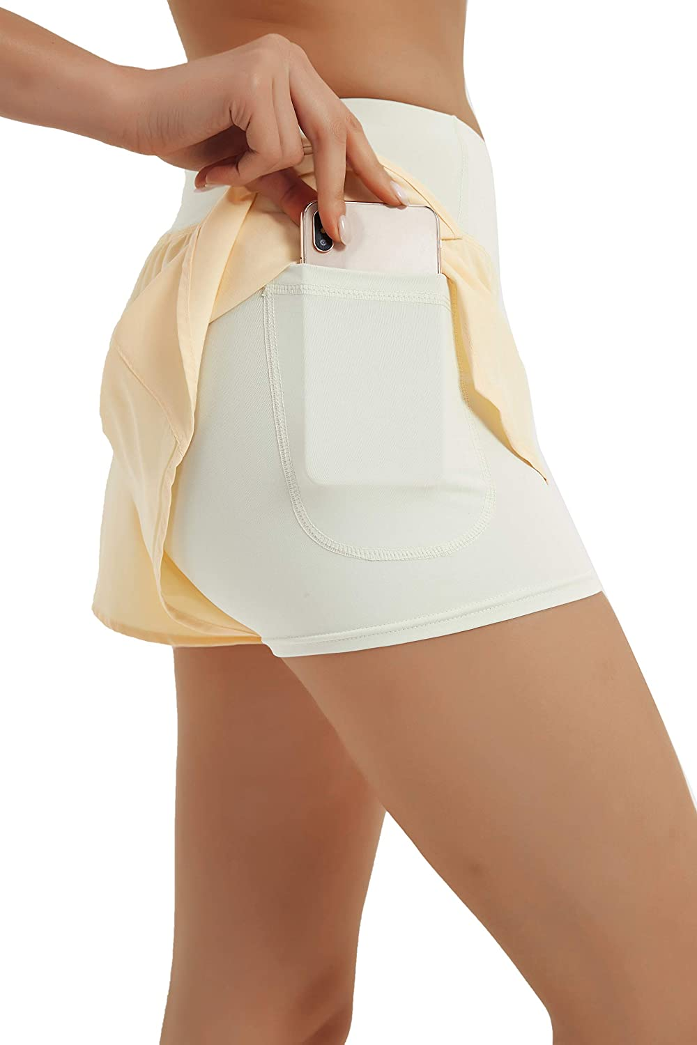 Yknktstc Womens Running Shorts Quick-Dry Active Sports Yoga Max Mail order 55% OFF Gym
