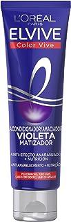 comprar comparacion L'Oréal Paris Elvive Color Vive Mascarilla Violeta Matizadora para el Pelo con Mechas, Rubio o Gris - 150 ml