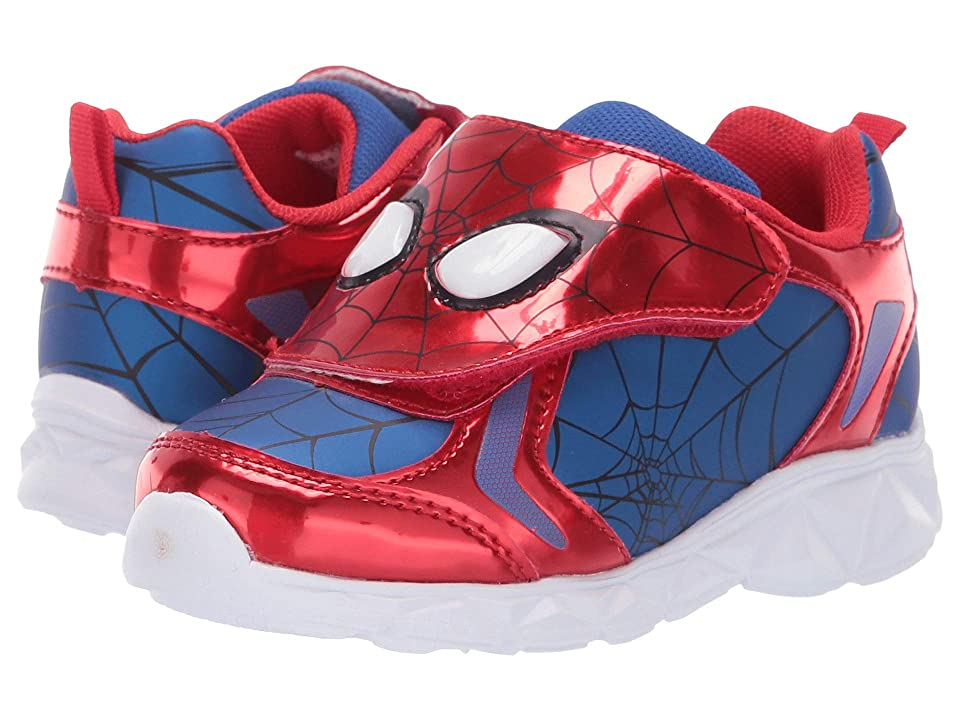 Favorite Characters Spider-Man Athletic SPF366 Lighted (Toddler/Little Kid) (Red/Blue) Boys Shoes