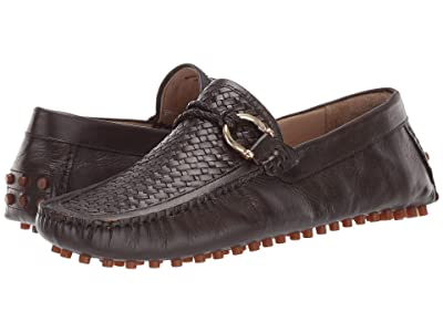 CARLOS by Carlos Santana Malone Driver Loafer (Coffee Interweave Calfskin Leather) Men