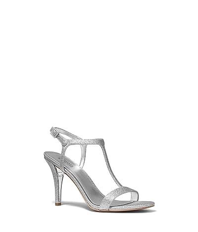 MICHAEL Michael Kors Arden T Strap (Silver) Women
