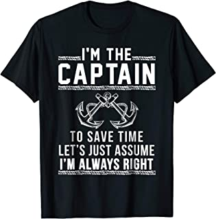 Captain Of The Boat - T Shirt