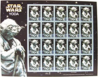 Star Wars Yoda Collectible Sheet of 20 X 41 Cent Stamps Scott 4205