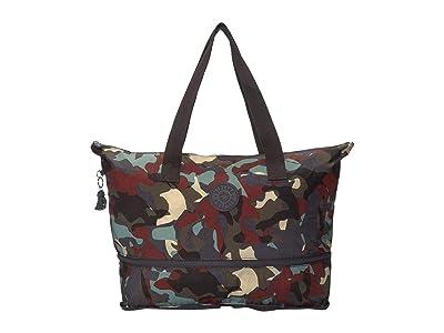 Kipling Imagine Foldable Tote Bag (Camo) Handbags