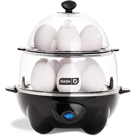 Poached Eggs JARDIS Electric Egg Cooker 7 Capacity Stainless Steel Egg Maker Machine for Hard Boiled Eggs Scrambled Eggs with Measuring Cup