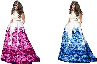 Florence Women's Silk Dress Material (GC025-GC027_White_Free)
