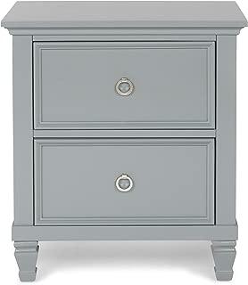 New Classic Furniture Tamarack Nightstand, Gray