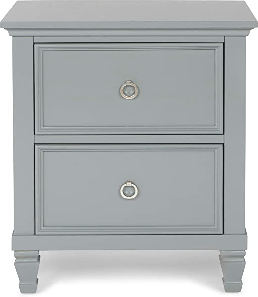 New Classic Furniture 00 042 040 Tamarack Nightstand Gray