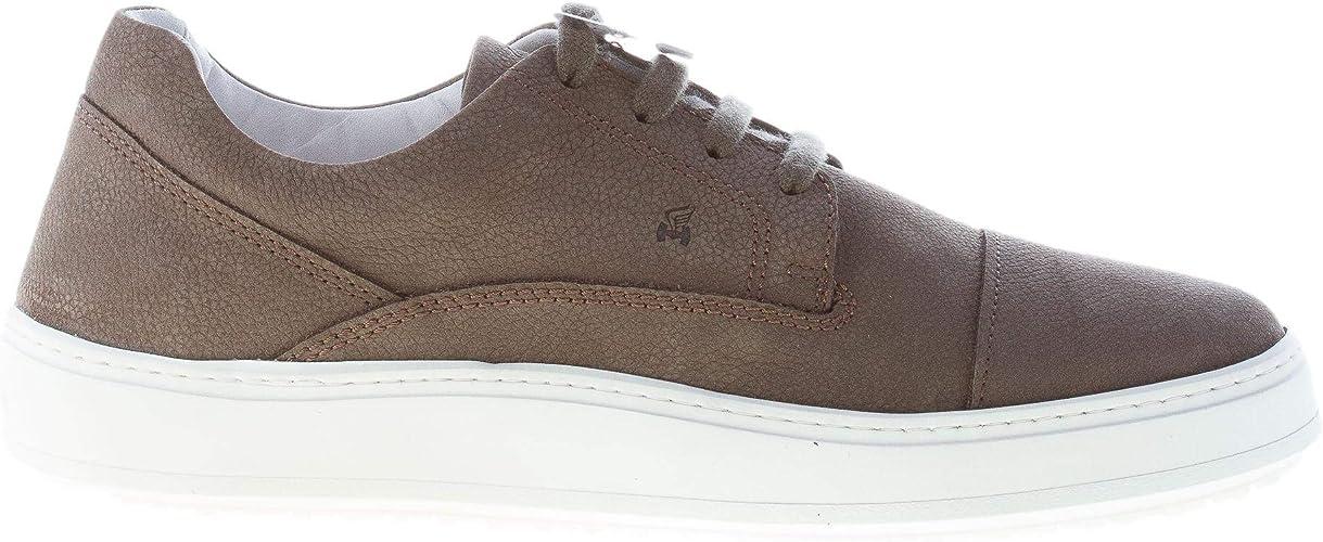 Hogan Uomo Sneaker H302 Modello Urbano in Nabuk Grigio Color ...