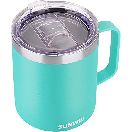 Amazon Com Otterbox Elevation Tumbler Mug W Closed Lid 14oz Frappe Kitchen Dining