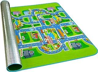 harayaa City Scene Foam Floor Mat Kids Baby Play Mat Carpet Rug for Home Party Picnic Outdoor Indoor - 200x160cm