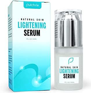 Lightening Serum, Dark Spot Corrector Remover Serum, Skin Lightener for face and body - Gentle Kojic Acid Formula for All Skin Types